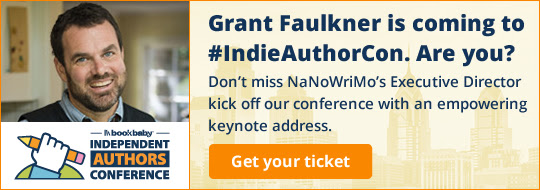 Grant Faulkner is coming to #IndieAuthorCon. Are you? Don't miss NaNoWriMo's Executive Director kick off our conference with an empowering keynote address.