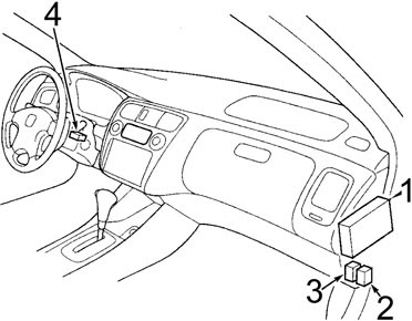97 02 Honda Accord Fuse Diagram