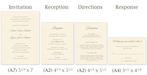 Wedding Invitation Cards Standard Siz And Wedding Rsvp