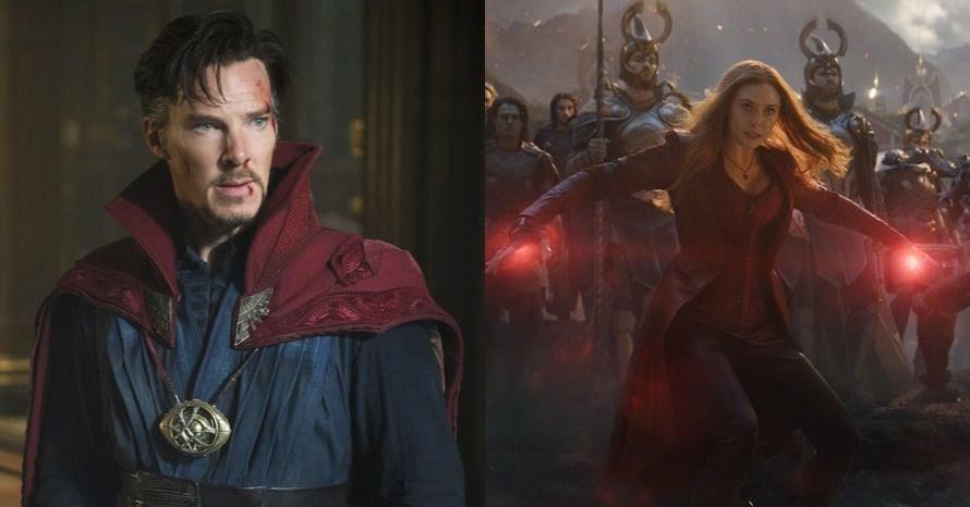 Doctor Strange Benedict Cumberbatch Elizabeth Olsen