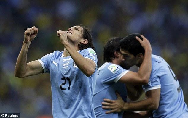 Uruguay's Edinson Cavani