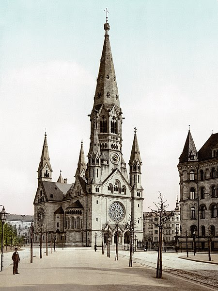 File:Emperor Wilhelm's Memorial Church (Berlin, Germany).jpg