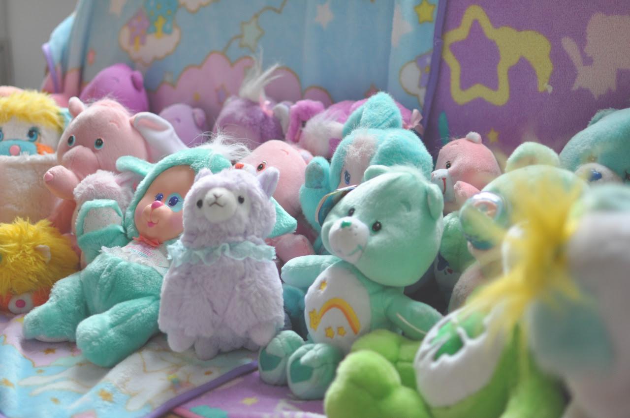 mais ursinhos de pelúcia