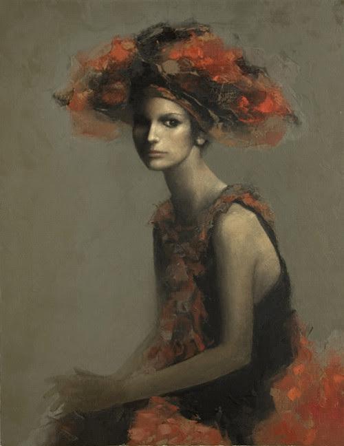 Peinture par l'artiste russe Vladimir Ryabchikov