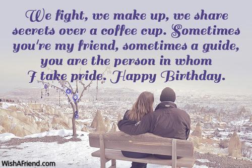 We Fight We Make Up We Birthday Wish For Husband