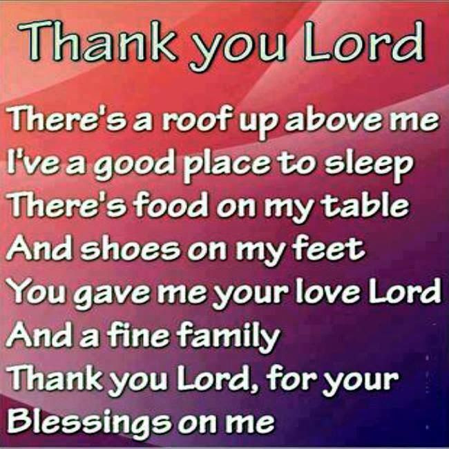 Quotes About Thank You Lord 62 Quotes