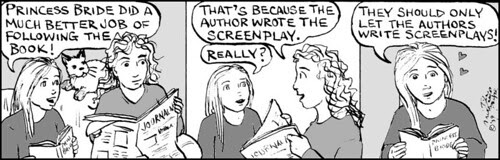 Home Spun comic strip #327