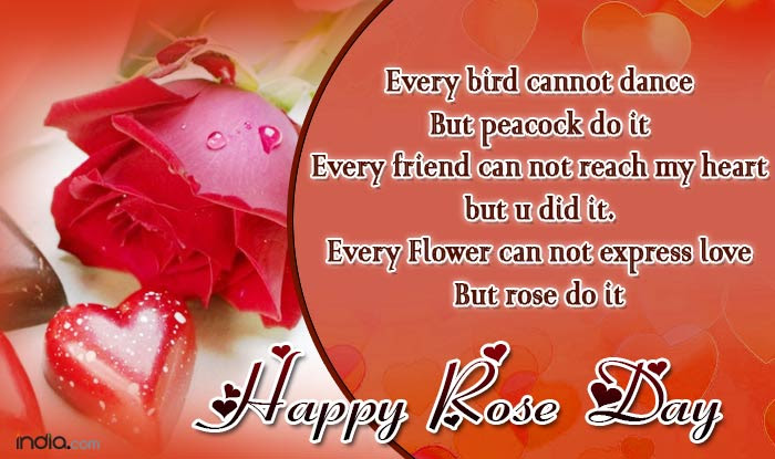 Happy Rose Day 2017 Best Rose Day Sms Quotes Whatsapp Facebook