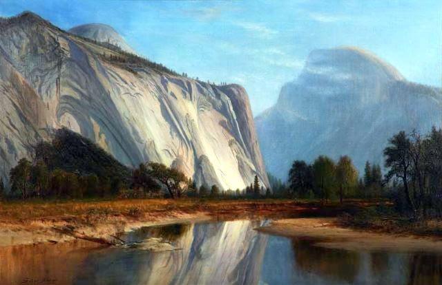 Landscape - Half Dome Yosemite