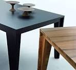 Modern Wood Dining Table - Plannets.