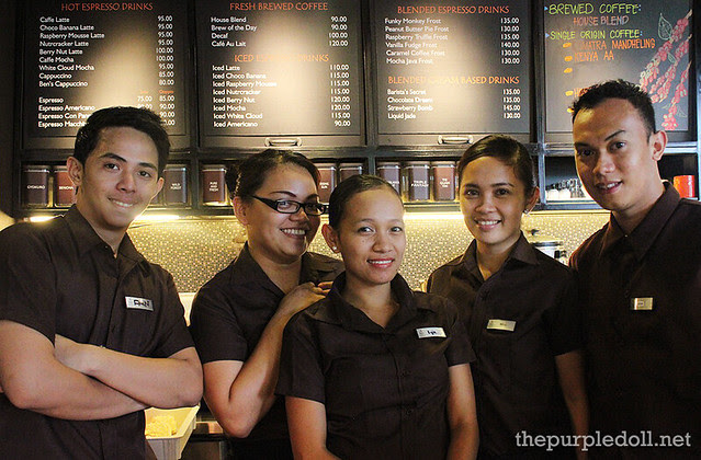Friendly Baristas at Kuppa