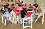 Cowboy & Cowgirl Baby Shower & Birthday Party Ideas