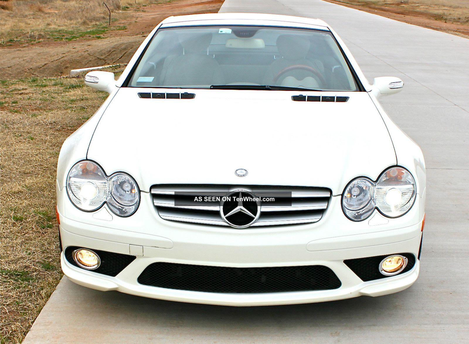 2007 Mercedes Benz Sl550