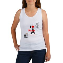 I Love Paris Women's Tank Top