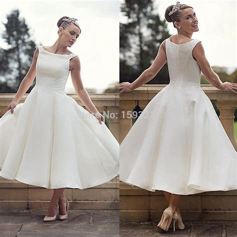 Short Plus Size Wedding Dresses 2015 Cheap Simple Stain