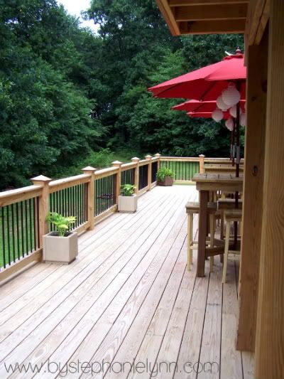 A Little More About Our diy Party Deck - bystephanielynn