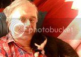 David and cat
