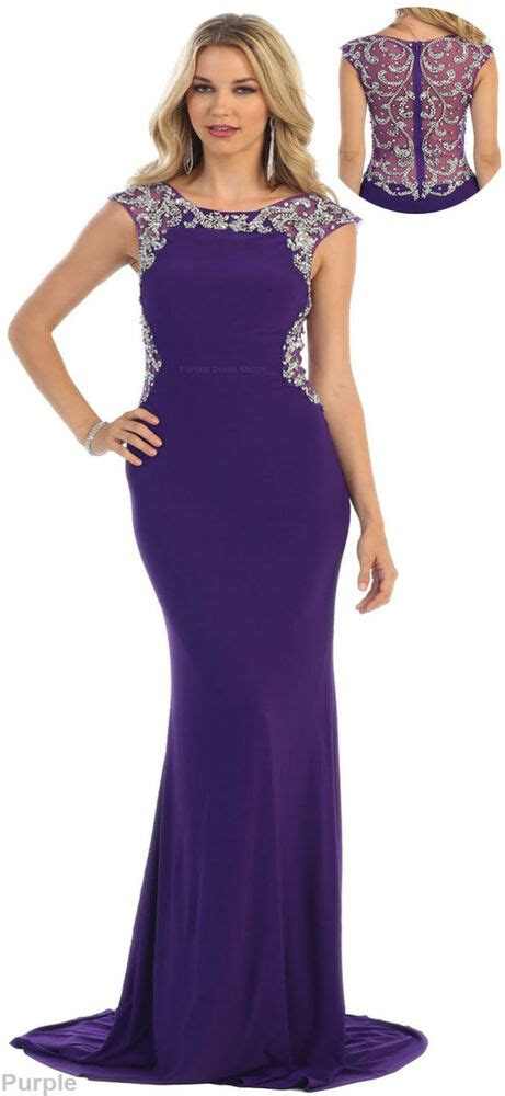 stretchy prom dance dress formal pageant red carpet