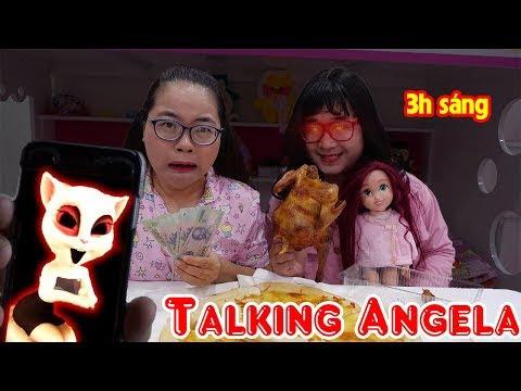 Đừng Chơi Talking Angela Lúc 3H Sáng - Mẹ Ghẻ Thương Con Chồng P2