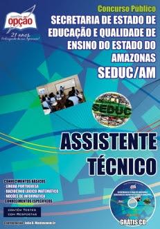 SEDUC / AM (Assistente)-ASSISTENTE TÉCNICO