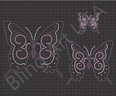 Butterfly Rhinestone Downloads Files Patterns Mature