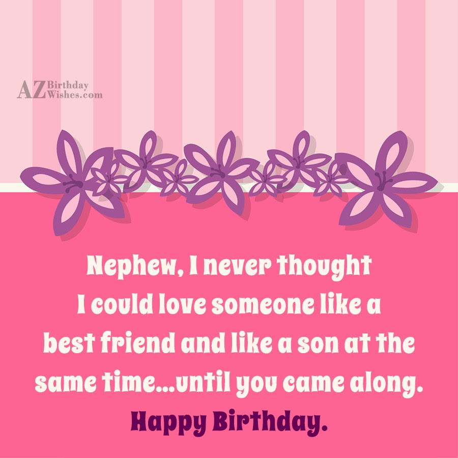 Birthday Wishes For Nephew Page 18