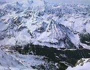 Una veduta delle montagne