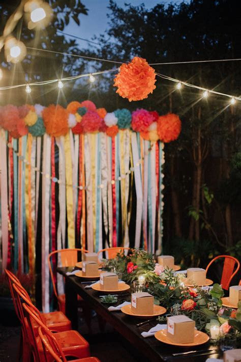 Backyard wedding fiesta: Nate   Michelle   Real Weddings