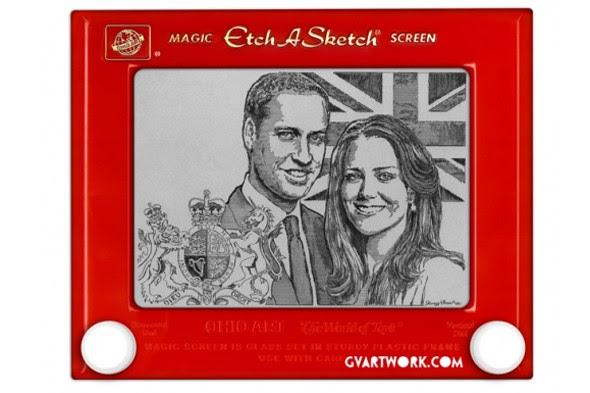 oyal wedding etch a sketch