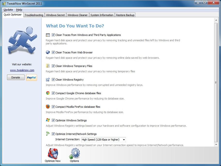 TweakNow WinSecret 2012