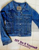 DO IT YORSELF : Reciclando Campera  De Jeans