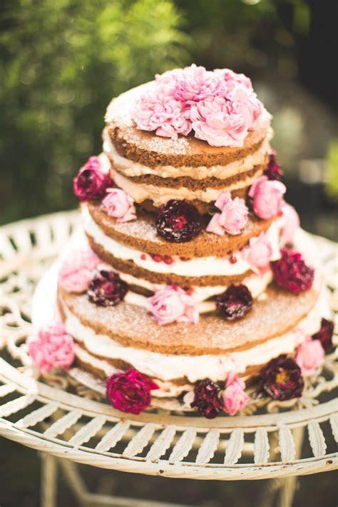 10 Naked Cakes, die Fondant überflüssig machen   Hochzeit