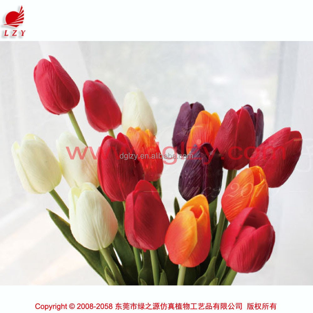 Artificial Tulips Bouquet Blue Tulip Flowers Decorative Artificial Flowers Making  Buy