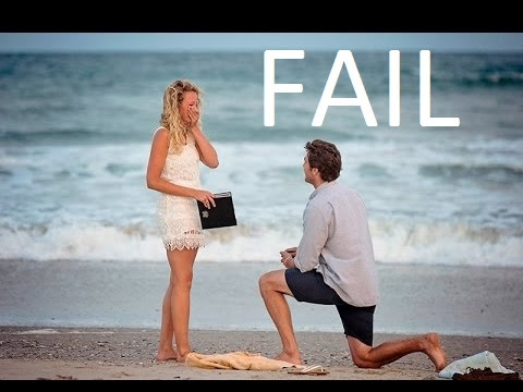 Marriage Proposal Fail Compilation Girl Says No Youtube