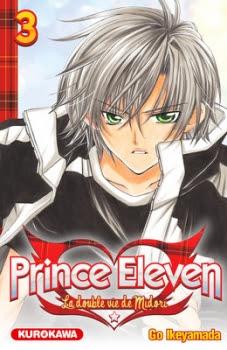 Couverture Prince Eleven - La double vie de Midori, tome 03