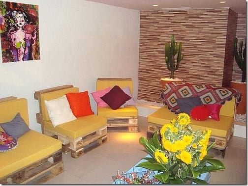 Ambiente criado e decorado pelo Madeira Usada Home & Depot