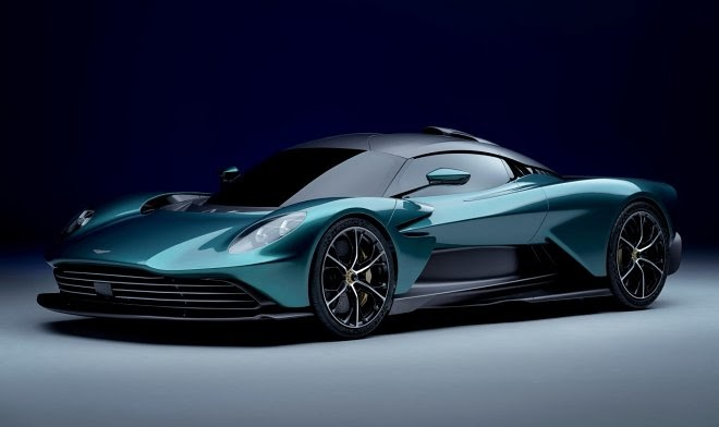 Aston Martin представила будущий серийный суперкар Valhalla