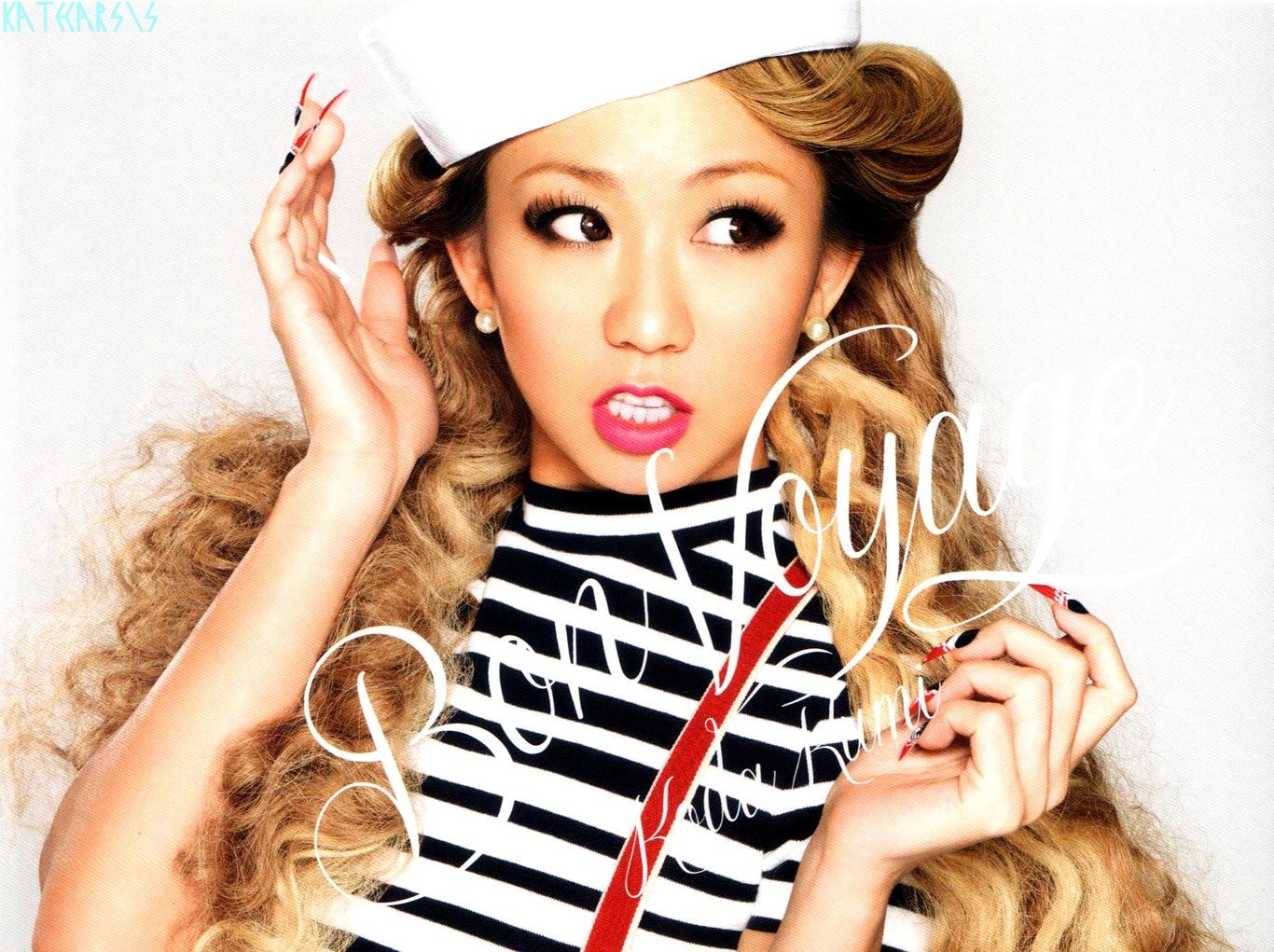 Koda Kumi Bon Voyage Live Tour 2014 Pamphlet Minitokyo