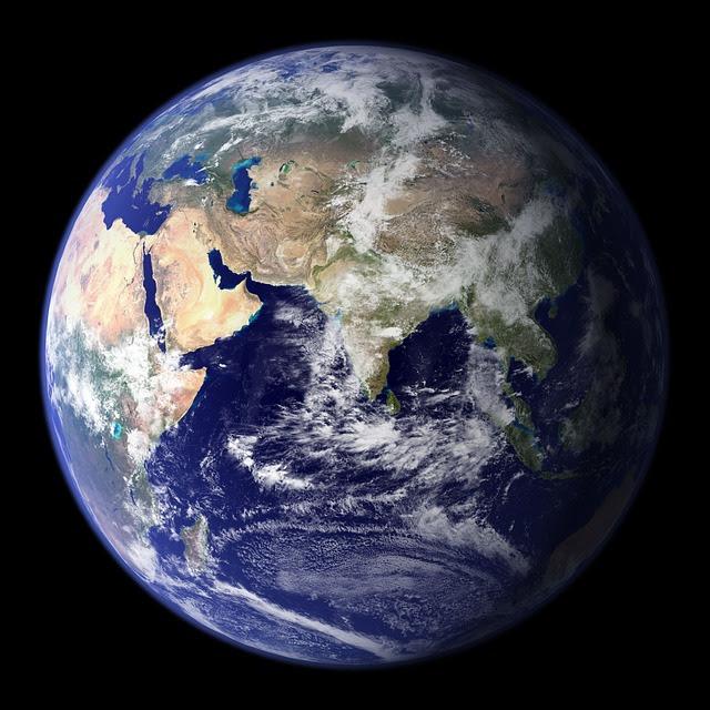 Tierra, Planeta Azul, Globo, Planeta, Espacio, Universo