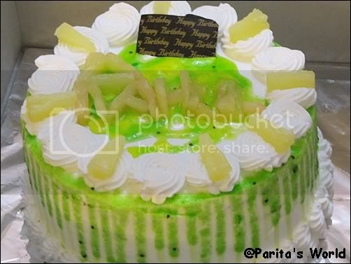 Pineapple Kiwi Fresh Cream Cake, Pineapple Kiwi Fresh Cream Cake