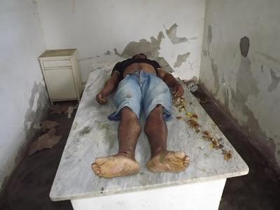 Homem foi atropelado próximo à antiga Rodoviária (Foto: Ubatã Notícias)