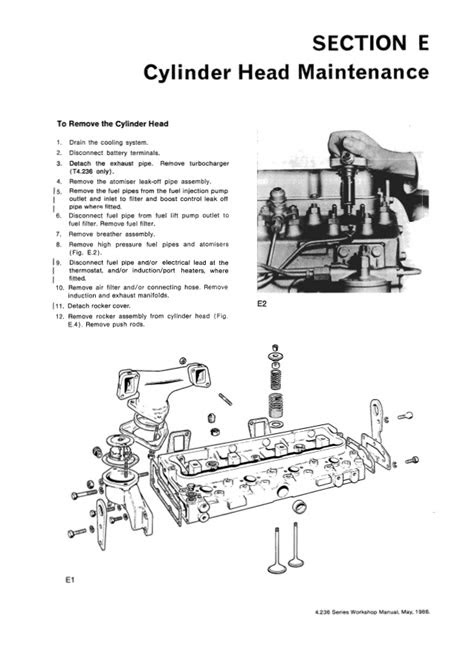 HATZ E950 DIESEL ENGINES WORKSHOP MANUAL - Auto Electrical