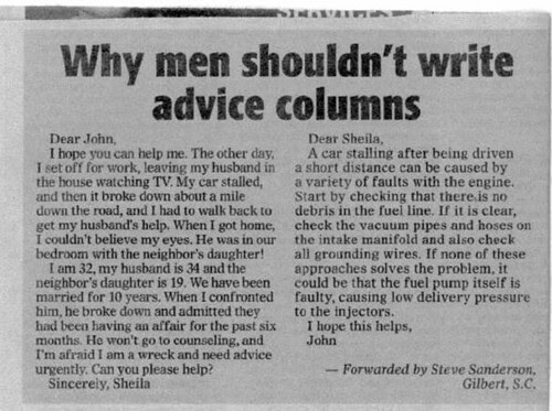 men advice