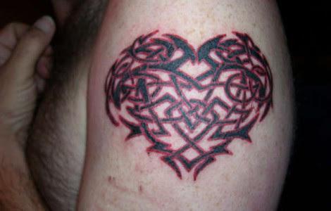 Celtic Heart Tattoo Tattoos Designs Ideas
