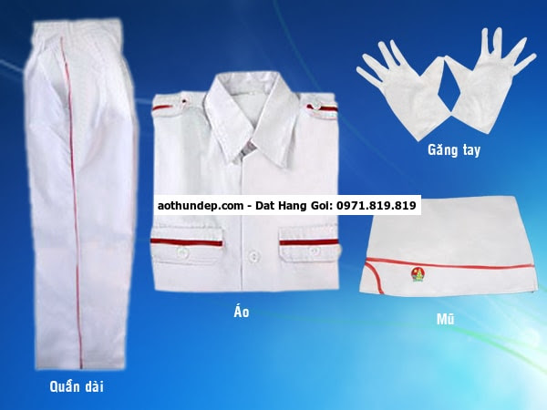 đồng phục nghi thức đội tphcm