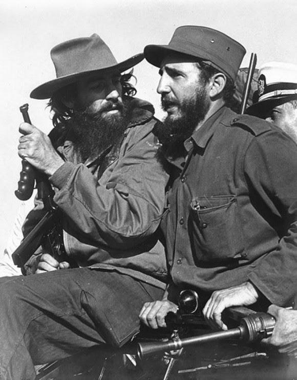 Fidel y Camilo.