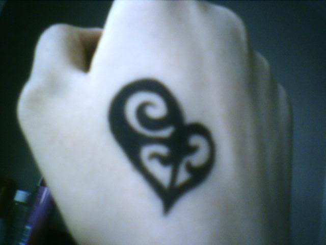 Semi Tattoo @ Dragonfly. ohhoo~~ i got myself a tattoo.