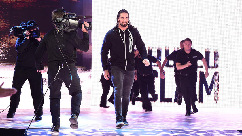Rollins crashes the party.