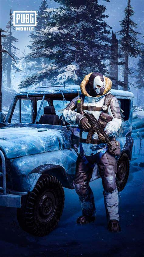 pubg mobile snowman  pure  ultra hd mobile