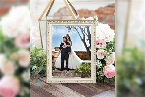Beautiful Romantic Wedding Photo Frames